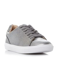 Head Over Heels Ebeline Lace Up Trainers Pewter