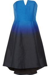 Halston Ombre Faille Dress