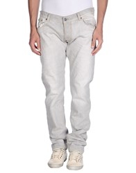 Gilded Age Denim Denim Trousers Men Light Grey