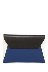Bcbgmaxazria Colorblock Clutch Blue