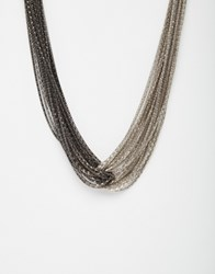 Coast Kaci Knot Necklace Silver
