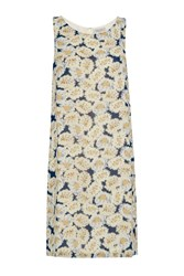 Great Plains Vintage Bloom Printed Shift Dress Yellow
