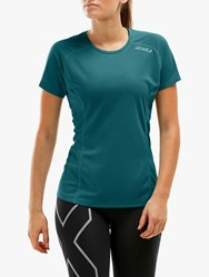 2Xu Xvent Short Sleeve Running Top Corsair Reflective X