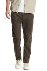 Ag Jeans The Lux Straight Leg Tailored Chino Green