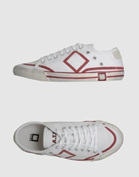 D.A.T.E. Sneakers Red