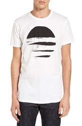 Vestige Men's Ripped Circle Graphic T Shirt