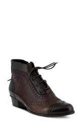 Spring Step Women's Heroic Bootie Brown Multi Leather
