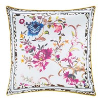 Roberto Cavalli Beethoven Silk Cushion White