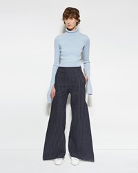 Jacquemus Le Pantalon Plat Grey Striped