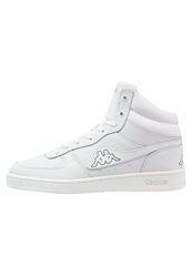 Kappa Trooper Deluxe Mid Hightop Trainers White Grey