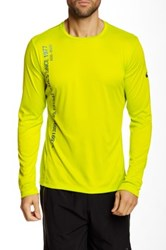 Asics Printed Long Sleeve Top Green