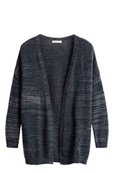 Sandwich Edge To Edge Marl Cardigan Navy
