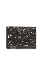 Tumi Alpha Gusseted Card Case With Id Galaxy Print