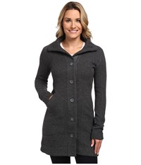 Marmot Maddie Sweater Slate Grey Heather Women's Coat Black