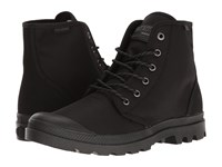 Palladium Pampa Hi Originale Tx Black Castlerock Lace Up Boots