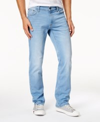 Ring Of Fire Men's Straight Fit Jeans Created For Macy's Light Blue