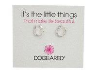 Dogeared It's The Little Things Horseshoe Earrings Sterling Silver Earring