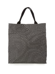 Danward Geometric Print Canvas Beach Tote