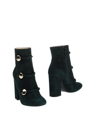 Lerre Ankle Boots Emerald Green