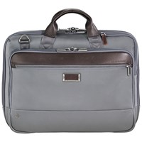 Briggs And Riley Atwork Medium Briefcase Grey
