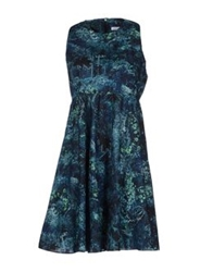 Surface To Air Short Dresses Deep Jade