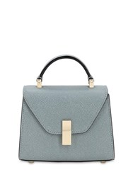 Valextra Micro Iside Grained Leather Bag Polvere