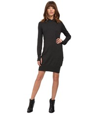 Bench Up And Coming Dress Black Marl Women's Dress Gray