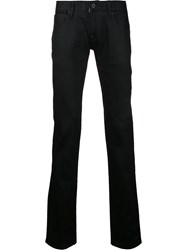 Factotum Straight Leg Jeans Black
