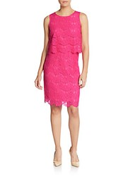 Anne Klein Lace Popover Dress