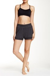 Alo Yoga Speck Short Gray