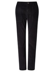 John Lewis Collection Weekend By Cord Trousers Black