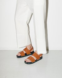 Marni Western Stitch Sandal Brown