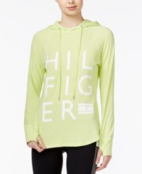 Tommy Hilfiger Sport Logo Hoodie A Macy's Exclusive Style Key Lime