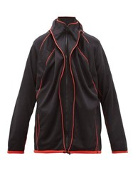 Y Project Pleated Track Jacket Black