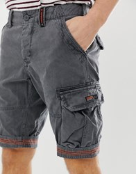 Superdry Core Cargo Shorts In Grey