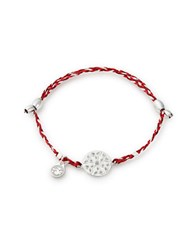 Alex And Ani Endless Knot Precious Threads Bracelet Silver