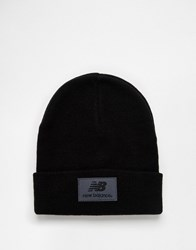 New Balance Troy Blackout Beanie Black