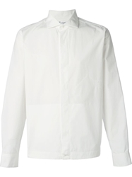 Faconnable Faconnable Embroidered Detail Shirt White