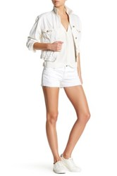 Ag Jeans Bonnie Relaxed Short White