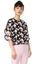 Giambattista Valli Short Sleeve Top Black