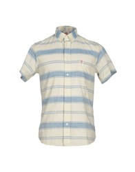 Franklin And Marshall Shirts Shirts Men Ivory