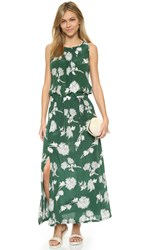 Burning Torch Floral Dress Floral Print