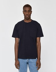 Norse Projects S S Johannes Pocket Tee In Dark Navy