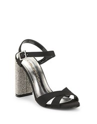 Caparros Hayley Embellished Evening Sandals Black