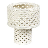 Pols Potten Woven Cylindrical Table Lamp