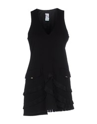 Uniqueness Dresses Short Dresses Women Black