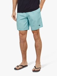 Ted Baker Alantic Patterned Swim Shorts Turquoise