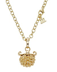 Temple St. Clair 18K Yellow Gold Large Pod Pendant With Diamonds White Gold
