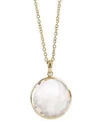 Ippolita Quartz Lollipop Pendant Necklace Clear