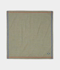 Vivienne Westwood Mini Check Green Handkerchief